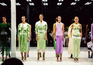 Prabal Gurung spring / summer 2014 collection at New york fashion week